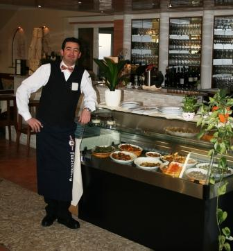 Das Anti-Pasti-Buffet im Da Vinci Lahr