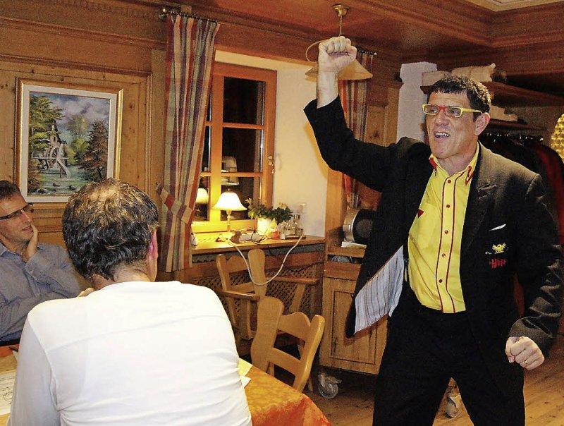 Comedy mit Helmut Dold in der Pelzmühle